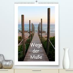Wege der Muße (Premium, hochwertiger DIN A2 Wandkalender 2021, Kunstdruck in Hochglanz) von Allbilt,  Rabea