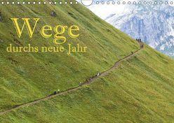 Wege durchs neue Jahr (Wandkalender 2019 DIN A4 quer) von Pfleger,  Hans