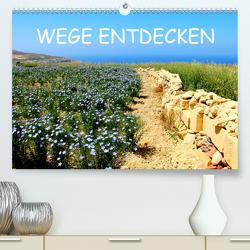 WEGE ENTDECKEN (Premium, hochwertiger DIN A2 Wandkalender 2021, Kunstdruck in Hochglanz) von Albilt,  Rabea