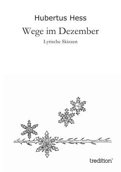 Wege im Dezember von Hess,  Hubertus