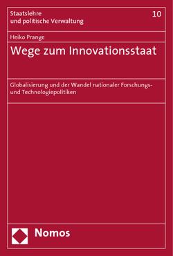 Wege zum Innovationsstaat von Prange,  Heiko
