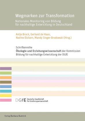 Wegmarken zur Transformation von Brock,  Antje, de Haan,  Gerhard, Etzkorn,  Nadine, Singer-Brodowski,  Mandy