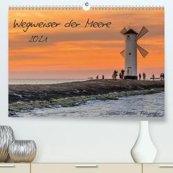 Wegweiser der Meere (Premium, hochwertiger DIN A2 Wandkalender 2021, Kunstdruck in Hochglanz) von Stracke Fotografie,  Dennis