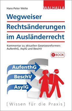 Wegweiser Rechtsänderungen im Ausländerrecht von Welte,  Hans-Peter