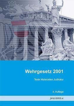 Wehrgesetz 2001 von proLIBRIS VerlagsgesmbH