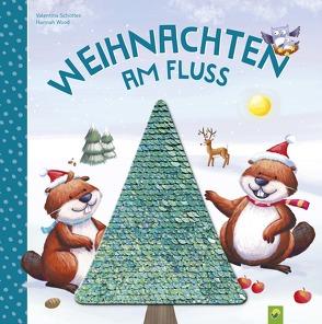 Weihnachten am Fluss von Schöttes,  Valentina, Wood,  Hannah
