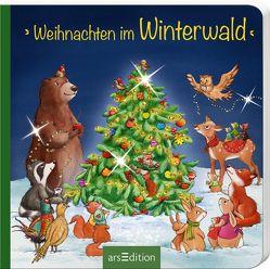 Weihnachten im Winterwald von Grimm,  Sandra, Straub,  Sabine
