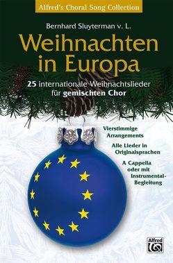 Weihnachten in Europa von Sluyterman van Langeweyde,  Bernhard