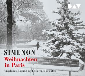 Weihnachten in Paris von Klau,  Barbara, Manteuffel,  Felix von, Simenon,  Georges, Wille,  Hansjürgen