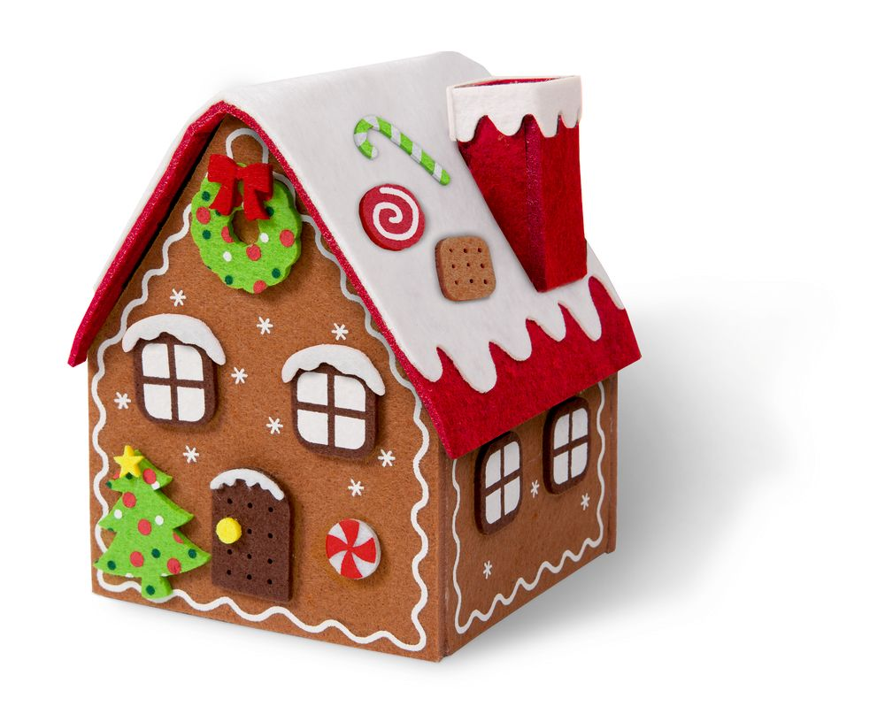 weihnachten lebkuchenhaus bastelset von dao nga. Black Bedroom Furniture Sets. Home Design Ideas