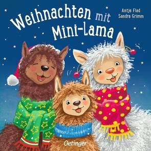 Weihnachten mit Mini-Lama von Flad,  Antje, Grimm,  Sandra