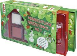 Weihnachtliche Fingerstempel-Welt (Set) von frechverlag