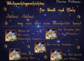 Weihnachtsgeschichten für Groß und Klein von Mußmann,  Martina