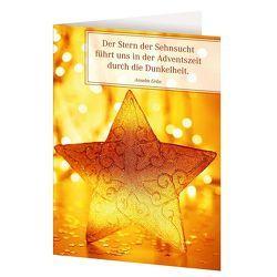 Weihnachtskarten »Ein gesegnetes Christfest« von Grün,  Anselm