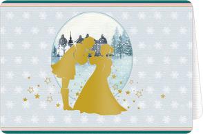 Weihnachtskarten mit Kuvert – Aschenbrödel – Wünsche für dich von Komarek,  Jaromir