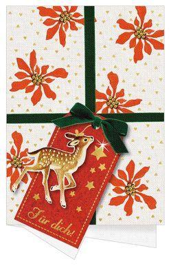 Weihnachtskarten mit Kuvert – Oh du schöne Weihnachtszeit