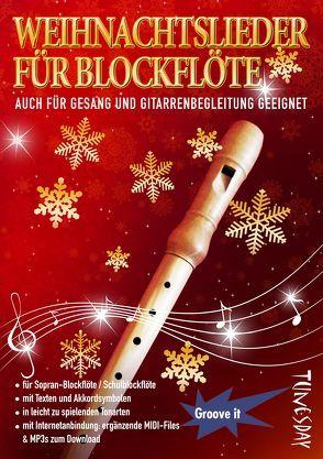 Weihnachtslieder für Blockflöte – B-Ware! von Tunesday Records Musikverlag