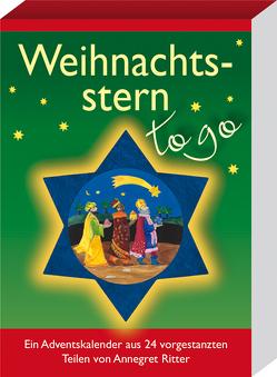 Weihnachtsstern – to go von Ritter,  Annegret