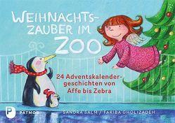 Weihnachtszauber im Zoo von Gholizadeh,  Fariba, Salm,  Sandra