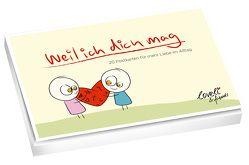 Weil ich dich mag – Postkartenbuch von Mercurio,  Royne
