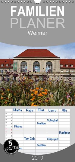 Weimar – Familienplaner hoch (Wandkalender 2019 , 21 cm x 45 cm, hoch) von Flori0