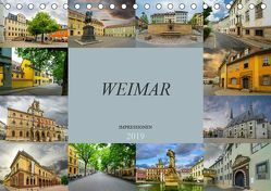 Weimar Impressionen (Tischkalender 2019 DIN A5 quer) von Meutzner,  Dirk