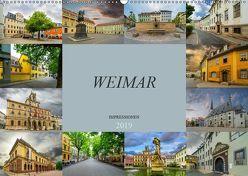 Weimar Impressionen (Wandkalender 2019 DIN A2 quer) von Meutzner,  Dirk