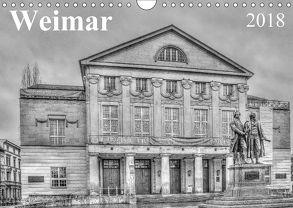 Weimar (Wandkalender 2018 DIN A4 quer) von Scholz,  Daniela