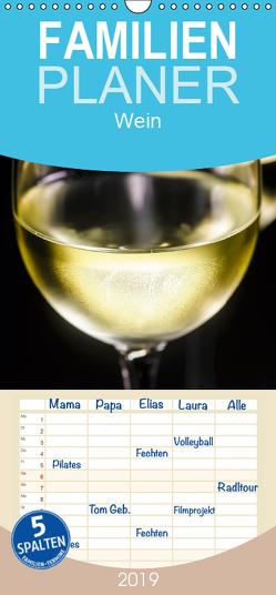 Wein – Familienplaner hoch (Wandkalender 2019 , 21 cm x 45 cm, hoch) von Jäger,  Anette/Thomas
