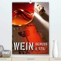 Wein-Genuss & Stil (Premium, hochwertiger DIN A2 Wandkalender 2021, Kunstdruck in Hochglanz) von Zimmermann,  H.T.Manfred