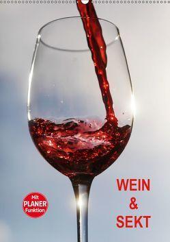 Wein und Sekt (Wandkalender 2019 DIN A2 hoch) von Jaeger,  Thomas