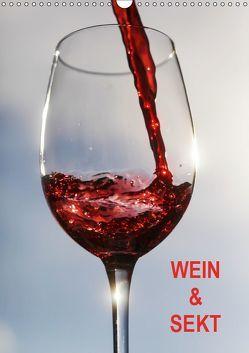 Wein und Sekt (Wandkalender 2019 DIN A3 hoch) von Jaeger,  Thomas
