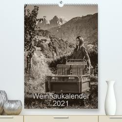 Weinbaukalender 2021 (Premium, hochwertiger DIN A2 Wandkalender 2021, Kunstdruck in Hochglanz) von Zippl,  Werner