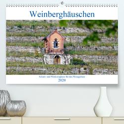 Weinberghäuschen – Schutz- und Werkzeughaus für den Weingärtner (Premium, hochwertiger DIN A2 Wandkalender 2020, Kunstdruck in Hochglanz) von Eisold,  Hanns-Peter