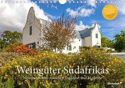 Weingüter Südafrikas, Weinarchitektur zwischen Tradition und Moderne (Wandkalender 2020 DIN A4 quer) von Rebok,  Chris