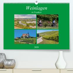 Weinlagen in Franken (Premium, hochwertiger DIN A2 Wandkalender 2020, Kunstdruck in Hochglanz) von Will,  Hans