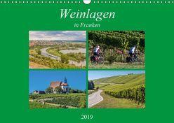 Weinlagen in Franken (Wandkalender 2019 DIN A3 quer) von Will,  Hans