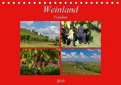 Weinland Franken (Tischkalender 2019 DIN A5 quer) von Will,  Hans