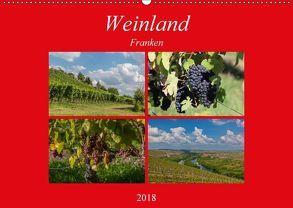 Weinland Franken (Wandkalender 2018 DIN A2 quer) von Will,  Hans