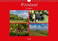 Weinland Franken (Wandkalender 2018 DIN A4 quer) von Will,  Hans