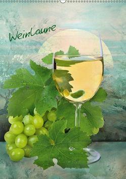 Weinlaune (Wandkalender 2018 DIN A2 hoch) von Lutzius,  Manfred