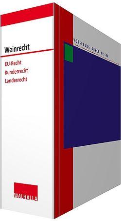 Weinrecht inkl. CD-ROM von Koy,  Josef, Schevardo,  Wilhelm