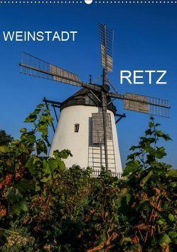 Weinstadt Retz (Wandkalender 2019 DIN A2 hoch) von Sock,  Reinhard