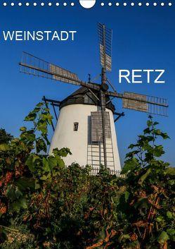 Weinstadt Retz (Wandkalender 2019 DIN A4 hoch) von Sock,  Reinhard