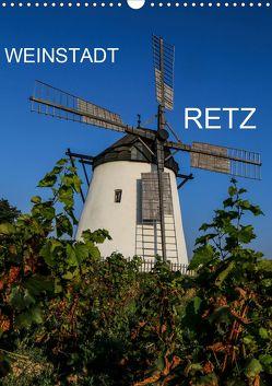 Weinstadt Retz (Wandkalender 2020 DIN A3 hoch) von Sock,  Reinhard