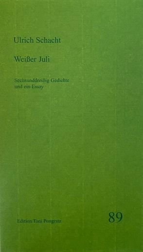 Weißer Juli von Schacht,  Ulrich