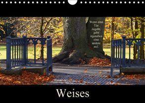 Weises (Wandkalender 2018 DIN A4 quer) von Flori0,  k.A.