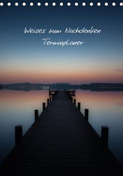 Weises zum Nachdenken – Terminplaner / CH-Version (Tischkalender 2020 DIN A5 hoch) von Kaiser,  Ralf