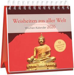 Weisheiten aus aller Welt – Wochen-Kalender 2020 von Gerner-Haudum,  Gabriele