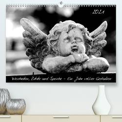 Weisheiten, Zitate und Sprüche – Ein Jahr voller Gedanken 2021 (Premium, hochwertiger DIN A2 Wandkalender 2021, Kunstdruck in Hochglanz) von Hebgen,  Peter